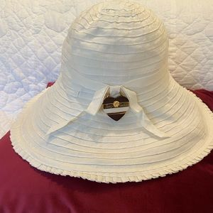 Juicy Couture White Sun Hat